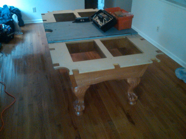 Pool Table Movers Atlanta GA Services Level Best Billiards - Taking apart a pool table